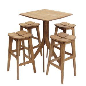 میز درختی با صندلی تترا